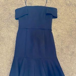 n/Nicholas Ponti Off the Shoulder Dress